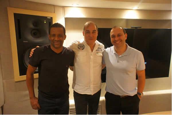 Sidney, Carlinhos Felix e Maurício Soares