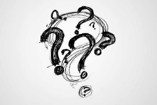 Ponto de interrogação (?)