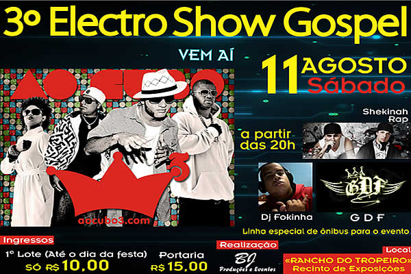 3º Electro Show Gospel