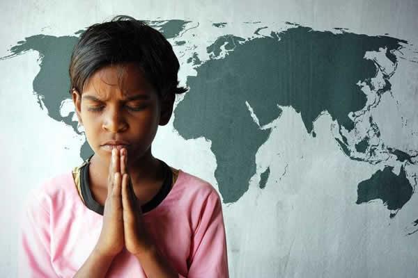 Ora��o pelo mundo