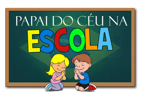 Papai do C�u na Escola (Divulga��o)
