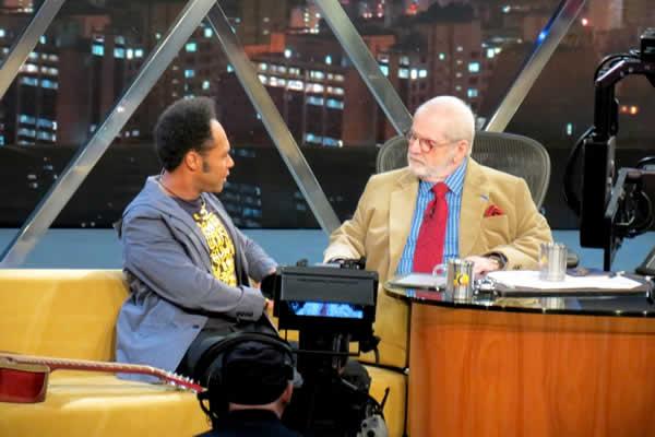 Thalles Roberto no Programa do Jô Soares (Rede Globo)